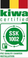 Kiwa certified - SSK 1002