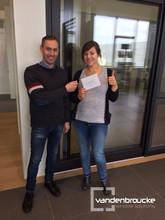 Opendeurdagen 2016: Hannah Maddens winnaar waardebon 250 euro