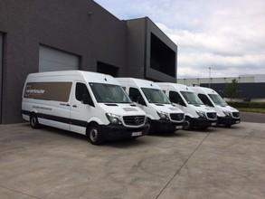 Nieuwe bestelwagens