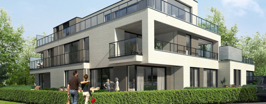 Nieuwbouwproject in Beselare
