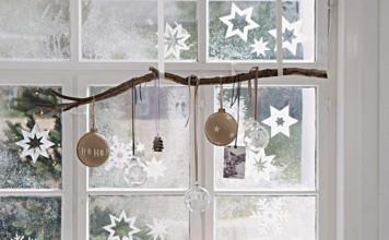 Kerstdecoratie voor je ramen en deuren