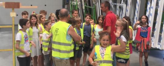 Leerlingen De Gulleboom op bedrijfsbezoek bij Ramen Vandenbroucke Window Solutions